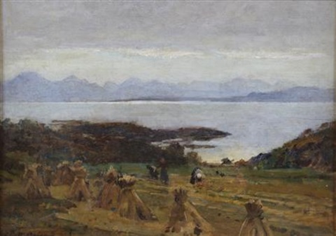 harvest time skye by robert weir allan