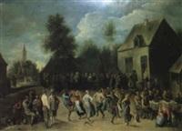 baile de aldeanos by josé alarcón suárez