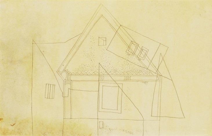 pettyegetett fûrészmintás ház splodgy house with saw pattern by lajos vajda