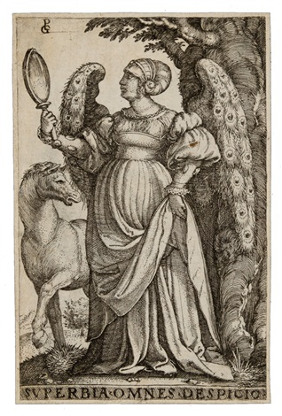la superbia by georg pencz