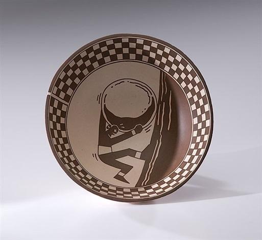 sisyphus bowl by diego romero