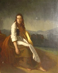 la madeleine repentante by philippe auguste jeanron