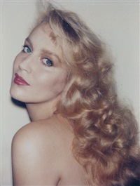 jerry hall by andy warhol
