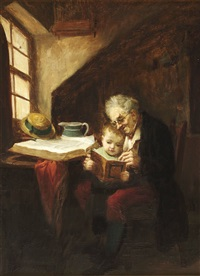 the reading lesson by john burr