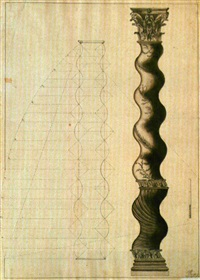 columna salomónica (study) by maria del rosario weiss