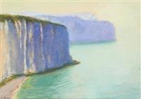 les falaises d'étretat by léonid frechkop
