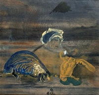 nun, anteater and oriental angel by charles s. (pic) higgins
