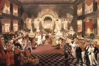 the reception of lord amherst by rup lal mallick by william henry florio hutchinson