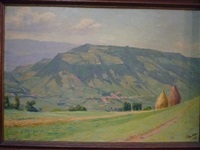 paysage dauphinois by hippolyte mouthier