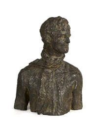 bust of a pikeman by jerome connor