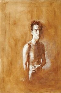 portrait by amnon david ar