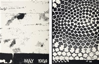 history (may 1984 white) (+ history (nostalgia white); 2 works) by adam pendleton