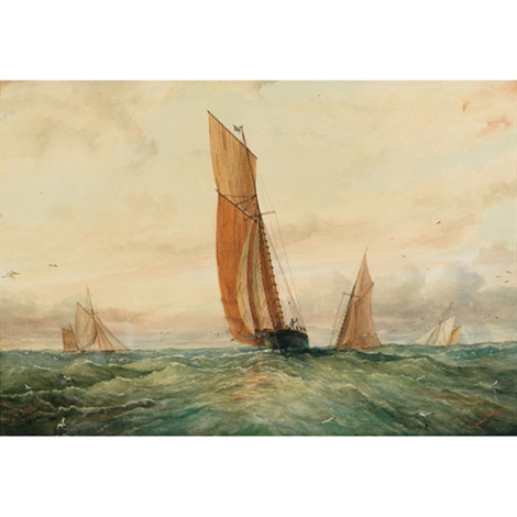 herring trawlers by william wallace armstrong