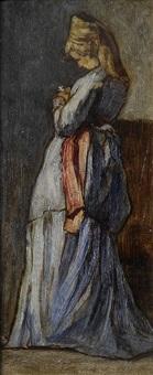la donna dalla margherita by amedeo ghesio volpengo