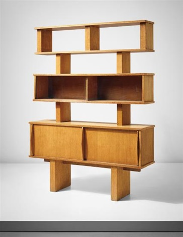 biblioth que model no 13 from lequipement de la maison series by charlotte perriand on artnet. Black Bedroom Furniture Sets. Home Design Ideas