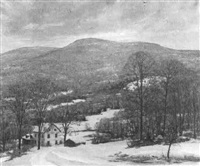 winter in the catskills by frank gervasi