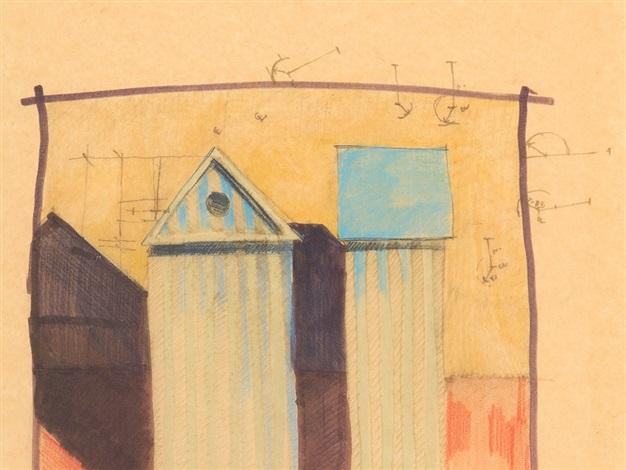 Studio per armadiocabina by aldo rossi on artnet for Armadio studio
