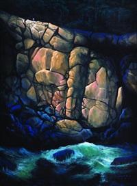 cascada rocallosa by carlos rios
