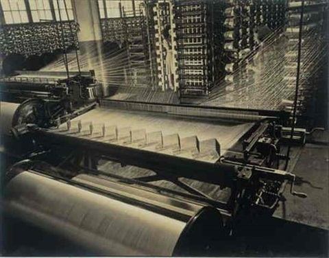 untitled textile machinery by ezra stoller