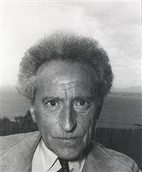 portrait jean cocteau by andré villers