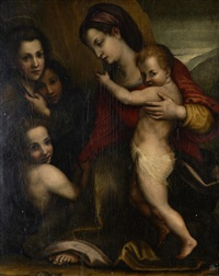 nossa senhora com menino jessu, com são joão baptista by anonymous-italian (16)