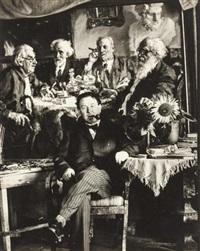 painter a. gerasimov by boris ignatovich