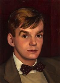 portrait of a young man by luigi lucioni