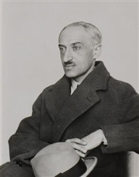 andré maurois by berenice abbott