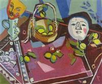 opstilling med masker by jean labasque
