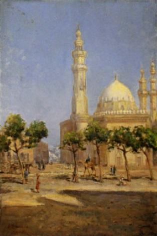 scorcio del cairo 1914 by alfredo campajola