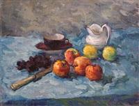 яблоки на голубом by a. sretenskij