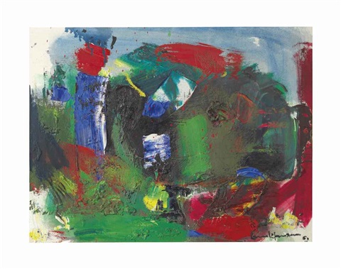 summer orgy by hans hofmann