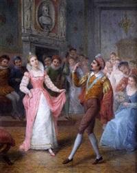 le leçon de danse by gerarda hermina marius eraud