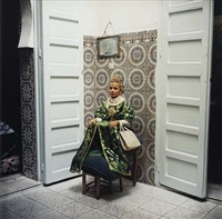 fille au tabouret, casablanca by yto barrada