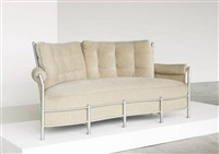rare curved-front biltmore sofa by warren macarthur