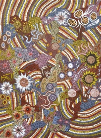 bush turkey dreaming by nungarrayi michelle possum