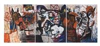 sin título (triptych) by alejandro santiago