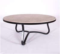 low coffee table by jean royère