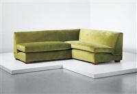 sofa, designed for mademoiselle de bellaing, paris by jean royère