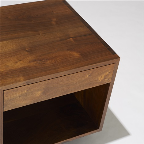 swett nightstands pair by george nakashima
