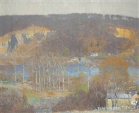 the valley--tohickon by daniel garber