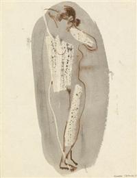 standing nude by konrad kramer