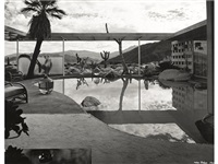 loewy residence, palm springs, designed by albert frey by julius shulman