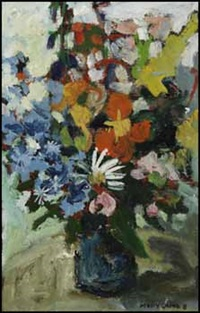 flowers #2 by molly joan lamb bobak