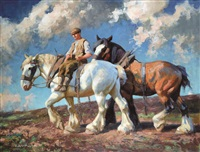 the plough team by archibald russell watson allan