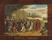 penn's treaty by edward hicks