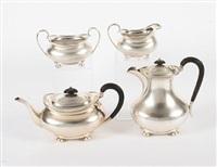 tea set (set of 4) by atkin brothers