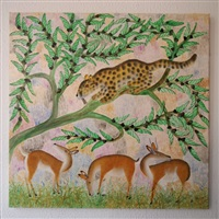 guépard chassant l'antilope by mulongoy pili pili