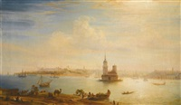 view of constantinople by aleksei petrovich bogolyubov