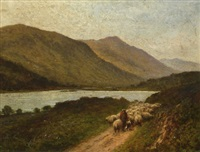 loch doine, balquhidder, n.b. by h. east